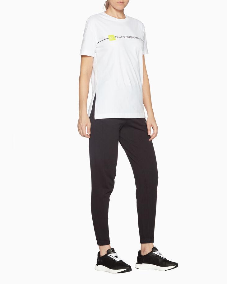 CALVIN KLEIN 그래픽 리니어 로고 티셔츠