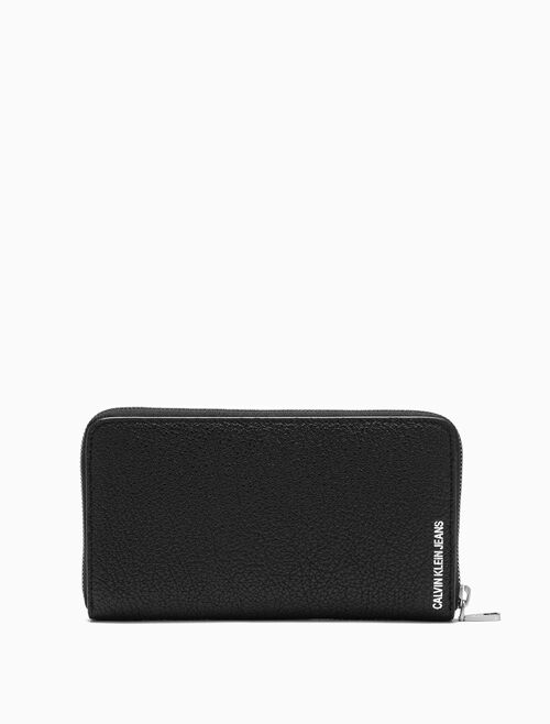 CALVIN KLEIN LONG ZIP AROUND WALLET