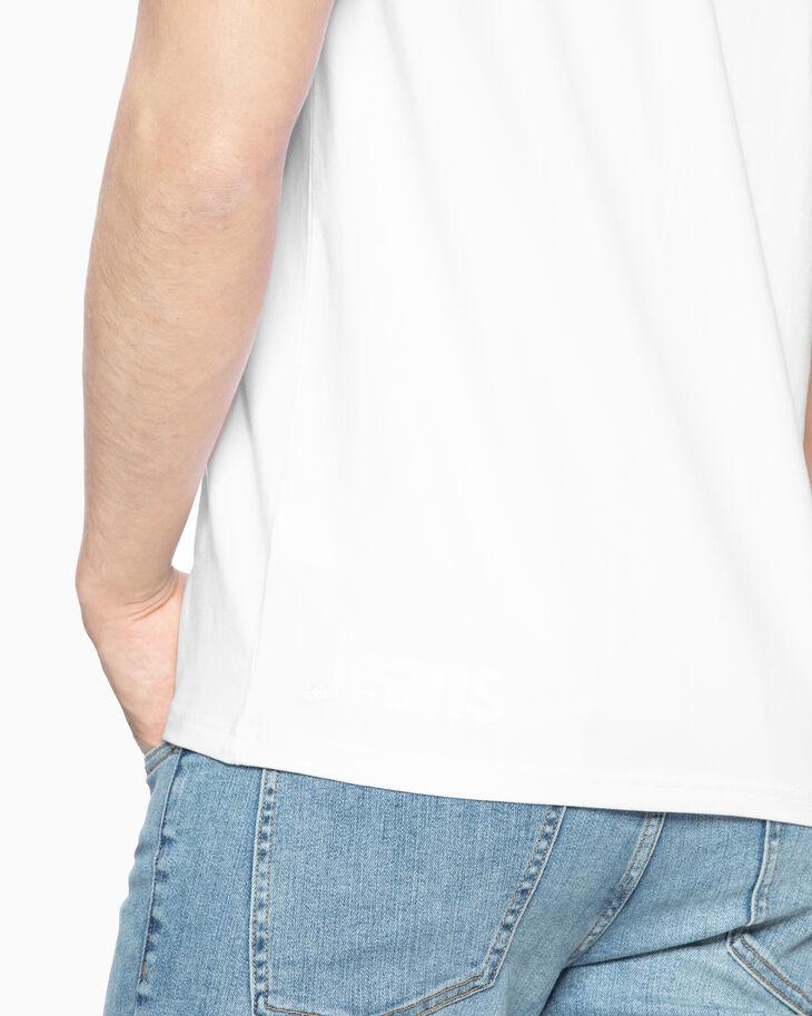 CALVIN KLEIN STITCHED LOGO 슬림 티셔츠