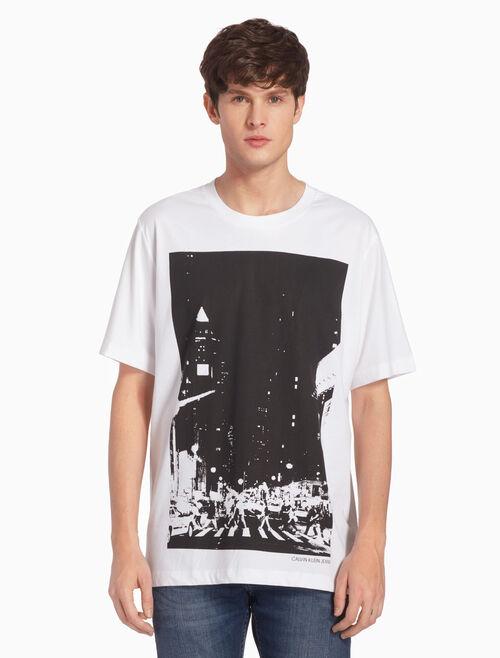 CALVIN KLEIN STREET CITYSCAPETシャツ
