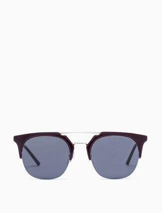 CALVIN KLEIN MODIFIED RECTANGLE SUNGLASSES