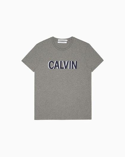 CALVIN KLEIN 刺繡 LOGO 上衣