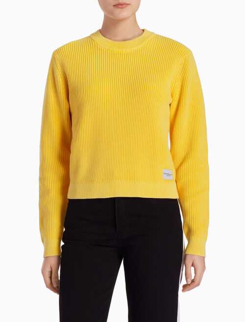 CALVIN KLEIN SAMI COTTON SWEATER