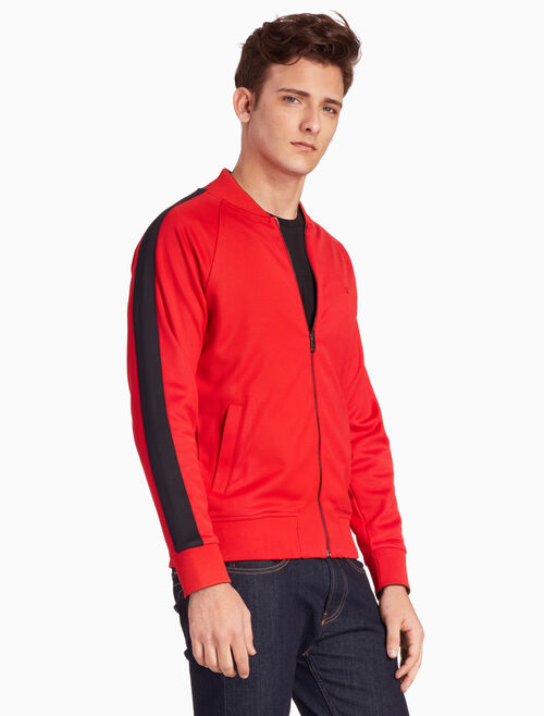 CALVIN KLEIN REVERSIBLE ZIP UP BOMBER