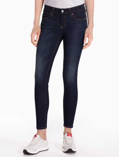 CALVIN KLEIN CKJ 022 WOMEN STRETCH BODY ANKLE JEANS