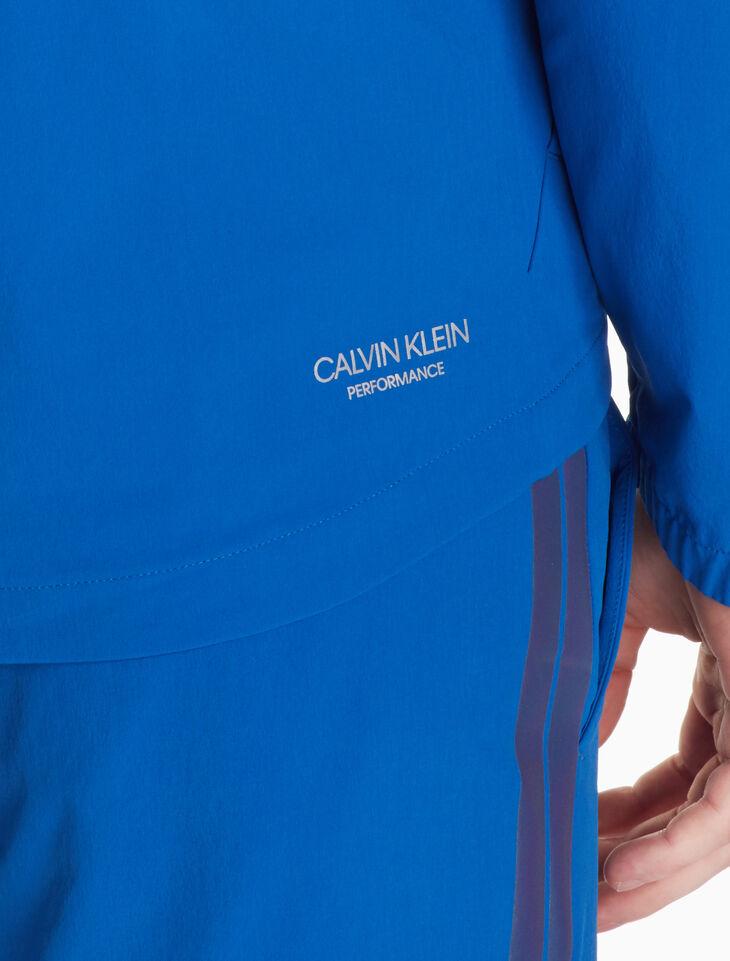 CALVIN KLEIN 可摺疊式防風外套
