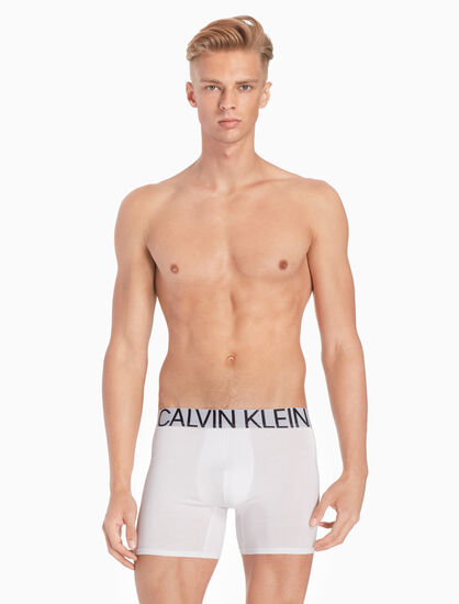 CALVIN KLEIN CK ID STATEMENT COTTON BOXERS
