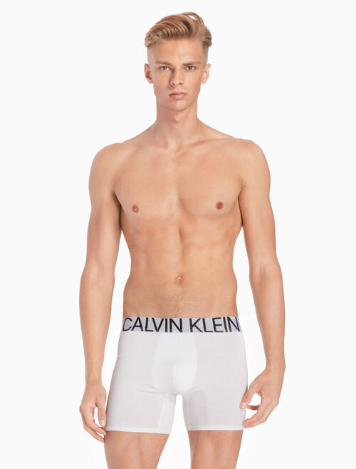 CALVIN KLEIN CK ID STATEMENT COTTON 四角褲