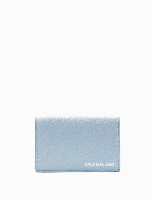 CALVIN KLEIN CARD CASE WITH COIN CASE