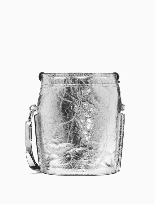 CALVIN KLEIN MINI METALLIC BUCKET