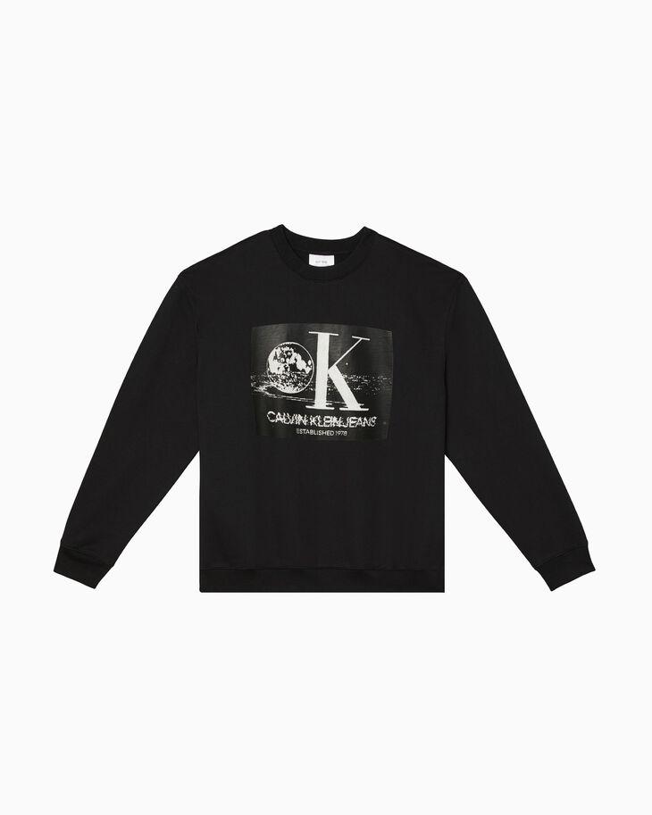 CALVIN KLEIN GRAPHIC PRINT 스웨트셔츠