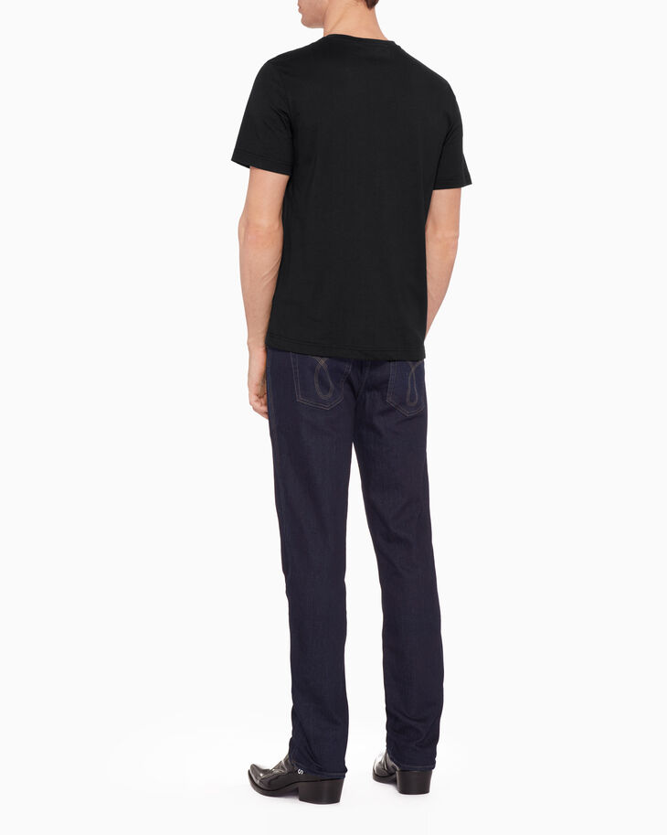 CALVIN KLEIN INSTITUTIONAL LOGO OUTLINE PRINT TEE