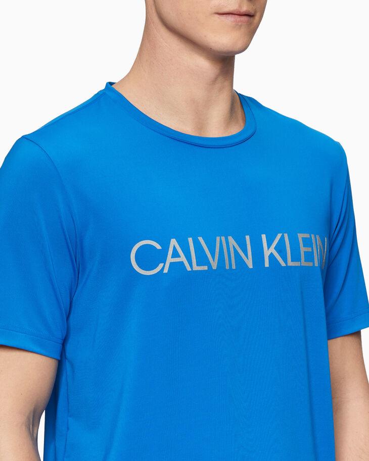 CALVIN KLEIN REFLECTIVE LOGO TEE