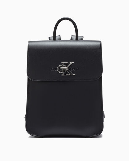 CALVIN KLEIN MONOGRAM FLAP BACKPACK 30