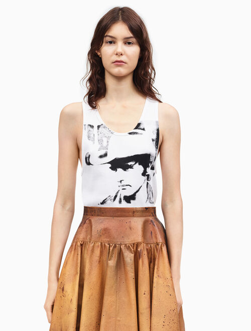 CALVIN KLEIN dennis hopper sleeveless tank top