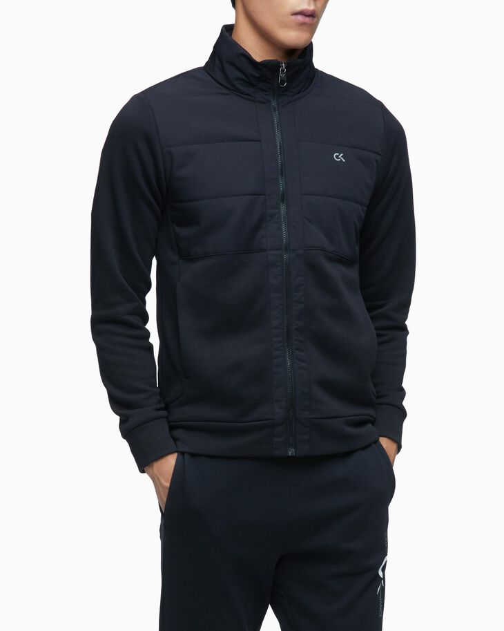 CALVIN KLEIN JACKET WITH PACKABLE HOOD