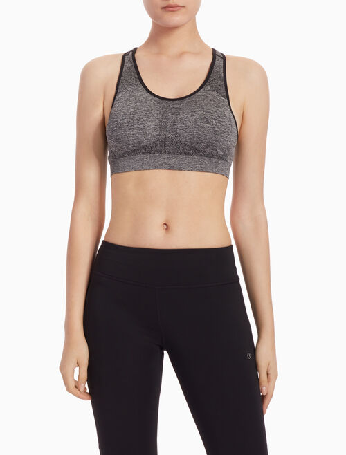 CALVIN KLEIN SEAMLESS BRA TOP WITH REMOVEABLE CUPS