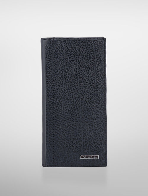 CALVIN KLEIN LEATHER LONG WALLET