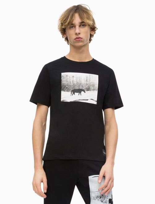 CALVIN KLEIN ANDY WARHOL PHOTO ART T-SHIRT