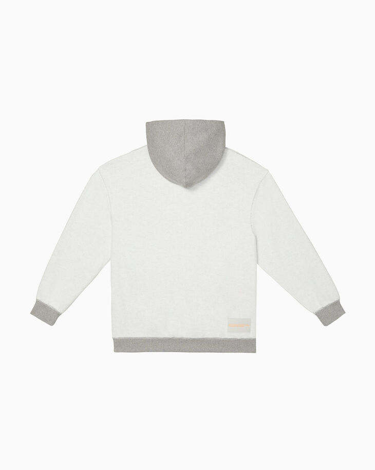 CALVIN KLEIN INSIDE OUT EMBROIDERED EST. 1978 LOGO HOODIE