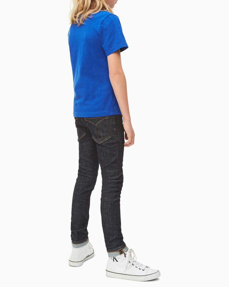 CALVIN KLEIN BOYS MONOGRAM 短袖上衣