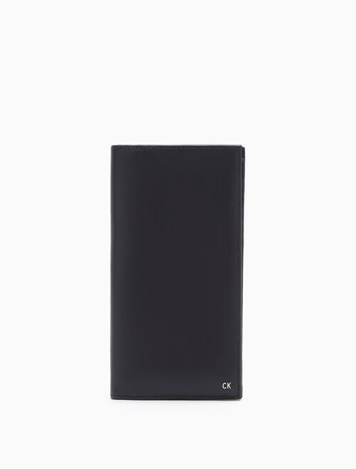CALVIN KLEIN Raw Logo Long Fold Wallet