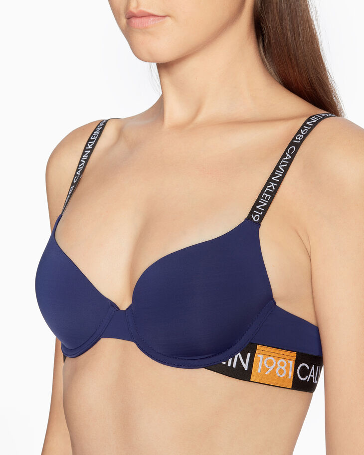 CALVIN KLEIN CK1981 BOLD LIGHTLY LINED DEMI BRA