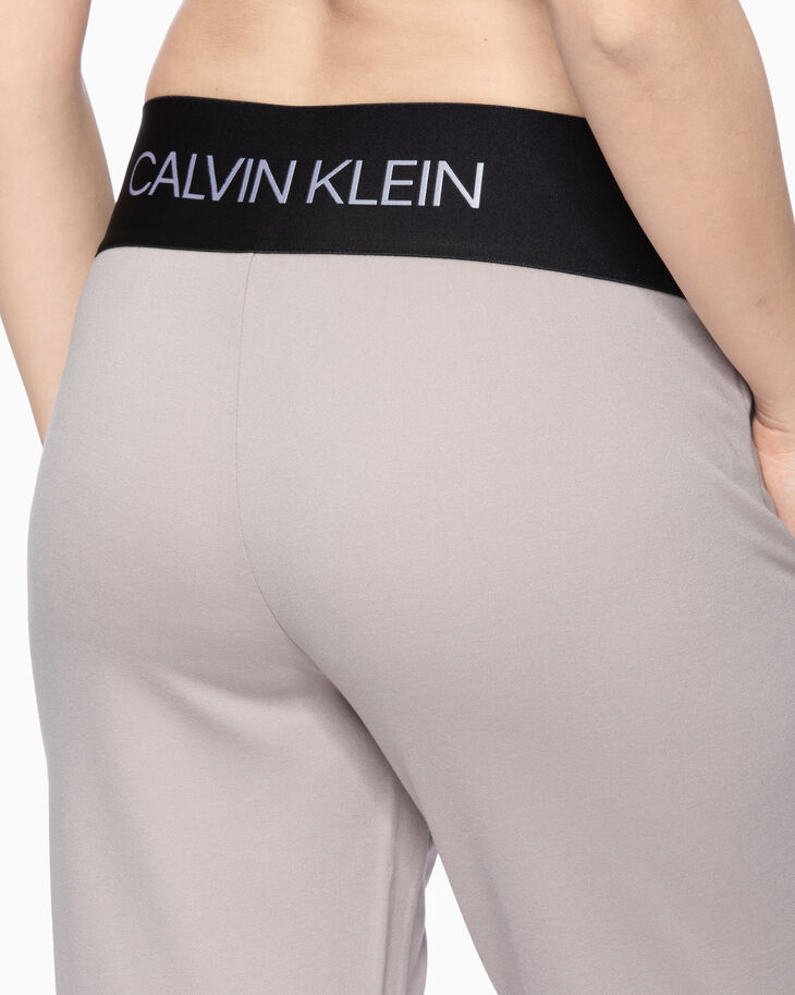 CALVIN KLEIN ACTIVE ICON KNIT SWEATPANTS