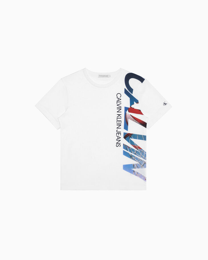 CALVIN KLEIN BOYS BASKETBALL GRAPHIC TEE