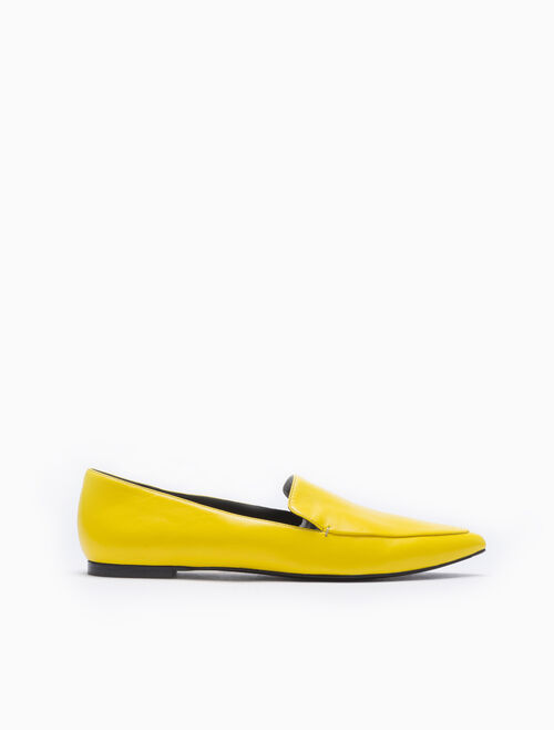 CALVIN KLEIN POINTED LOAFERS