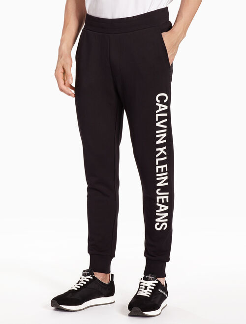 CALVIN KLEIN SIDE LOGO SWEAT PANTS