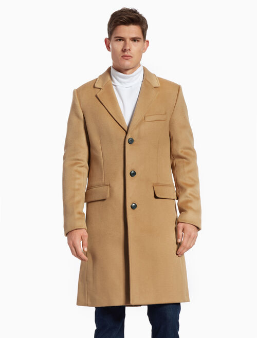 CALVIN KLEIN LONG WOOL COAT