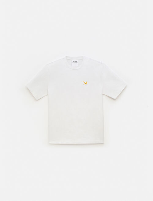 CALVIN KLEIN EST 1978 ICON EMBROIDERED CREWNECK T-SHIRT