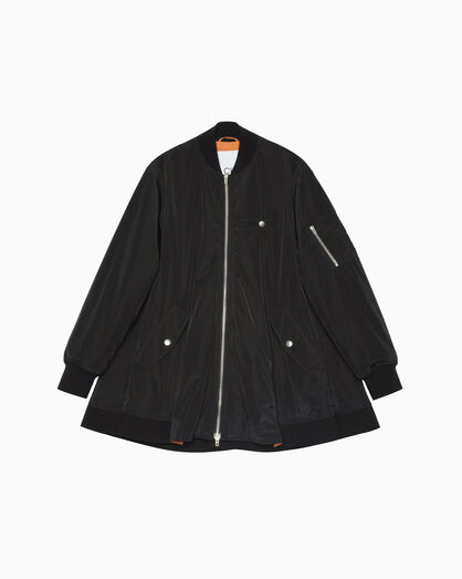 CALVIN KLEIN FLARED THERMALITE BOMBER JACKET