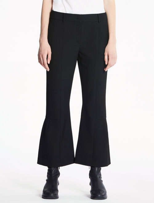 CALVIN KLEIN DOUBLE WEAVE STRETCH PANTS