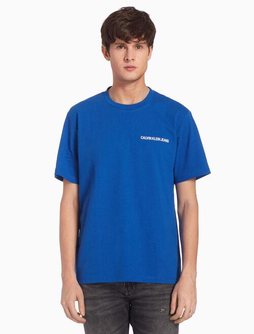 CALVIN KLEIN LOGO 레귤러 티셔츠