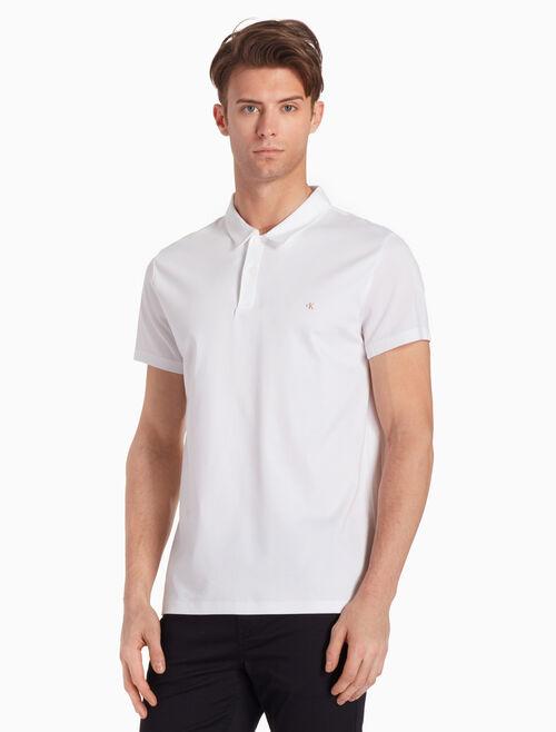 CALVIN KLEIN 頂級 PIQUE POLO 衫