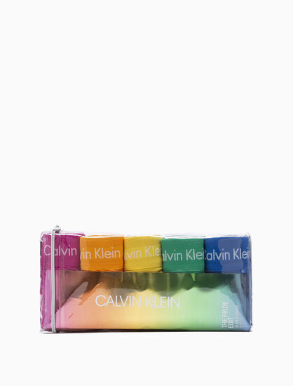 CALVIN KLEIN 5 PACK TRUNKS - THE PRIDE EDIT