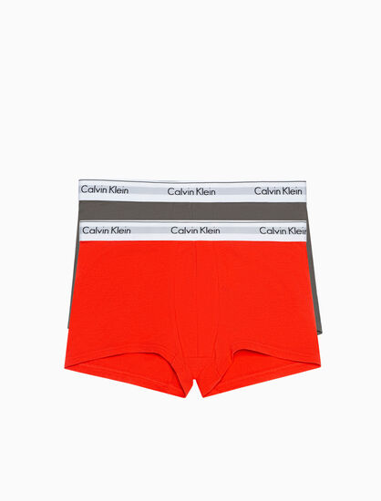 CALVIN KLEIN MODERN COTTON STRETCH トランクス 2 枚パック