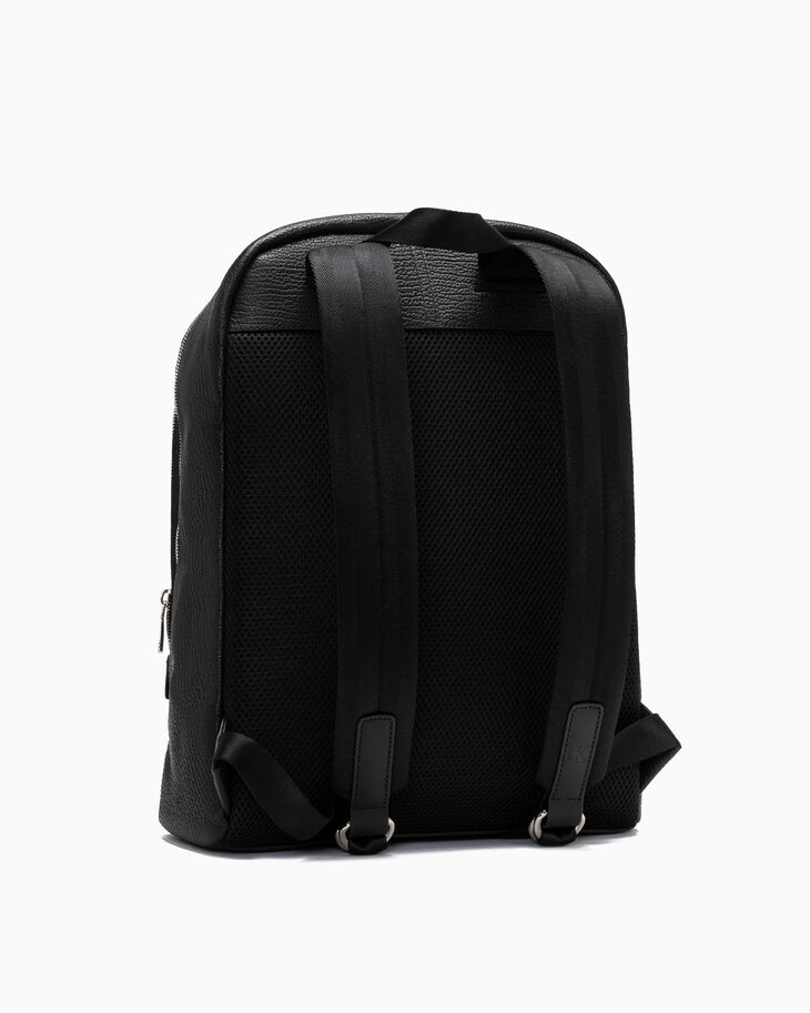 CALVIN KLEIN FOLDED DOUBLE ZIP BACKPACK