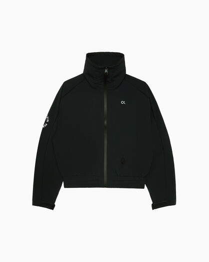 CALVIN KLEIN SPACE LINES OVERSIZED WINDBREAKER