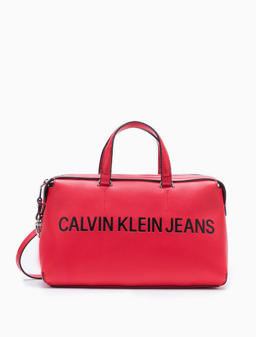 CALVIN KLEIN Barrel Shoulder Bag