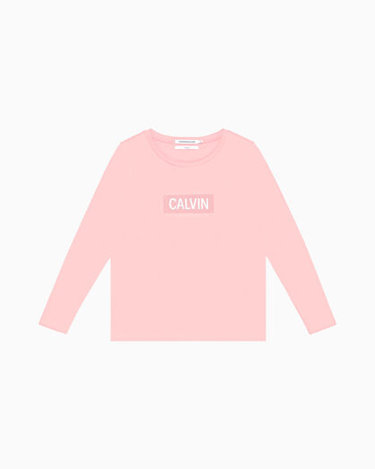 CALVIN KLEIN GRAPHIC LOGO LONG SLEEVE TEE