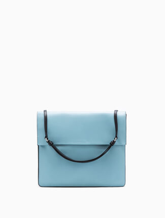 CALVIN KLEIN FLARED SHOULDER BAG