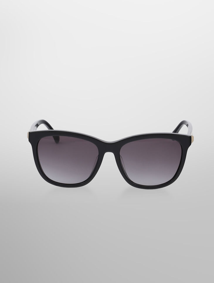 CALVIN KLEIN OVERSIZED SQUARE SUNGLASSES
