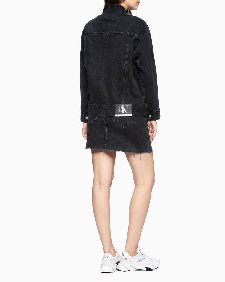 CALVIN KLEIN CK ONE OVERSIZED FOUNDATION JACKET