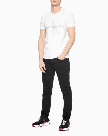 CALVIN KLEIN REFLECTIVE MONOGRAM LOGO 티셔츠