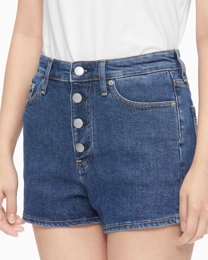 CALVIN KLEIN SUSTAINABLE ICONS HIGH-RISE SHORTS