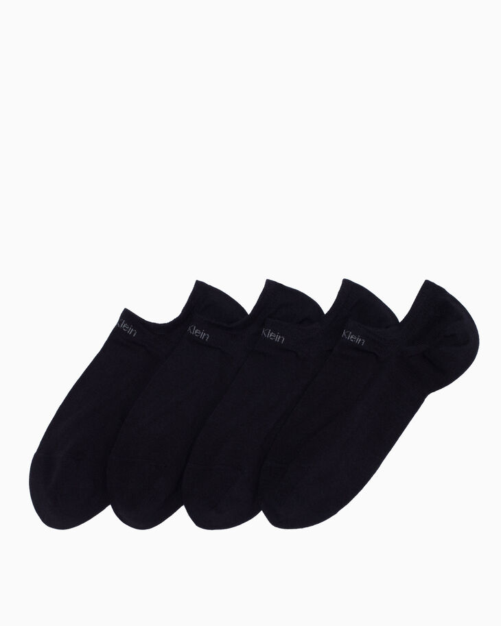 CALVIN KLEIN LOGO COTTON LINER SOCKS 2 PACK