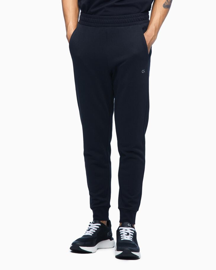CALVIN KLEIN GRAPHIC KNIT SWEAT PANTS
